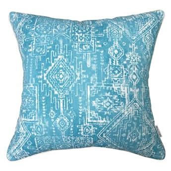 Poduszka dekoracyjna Aztec Blue 45 x 45 cm