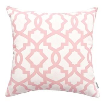 Poduszka z geometrycznym wzorem Geo Blush 45 x 45 cm
