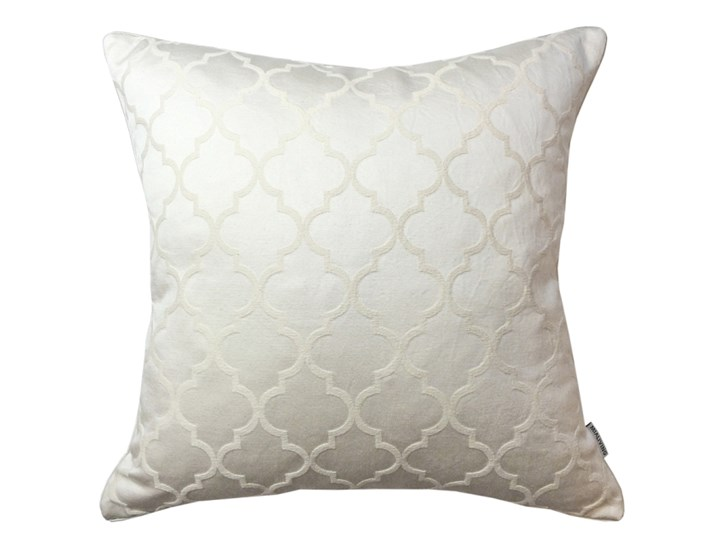 Elegancka poduszka w marokańską koniczynę Zahira 45 x 45 cm Bawełna Poliester 45x45 cm