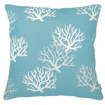 Poduszka dekoracyjna koralowiec Coral Blue Mialiving 45 x 45 cm