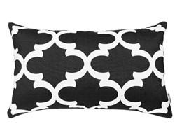 Poduszka dekoracyjna w marokańską koniczynę Marrakesh Black 30 x 50 cm