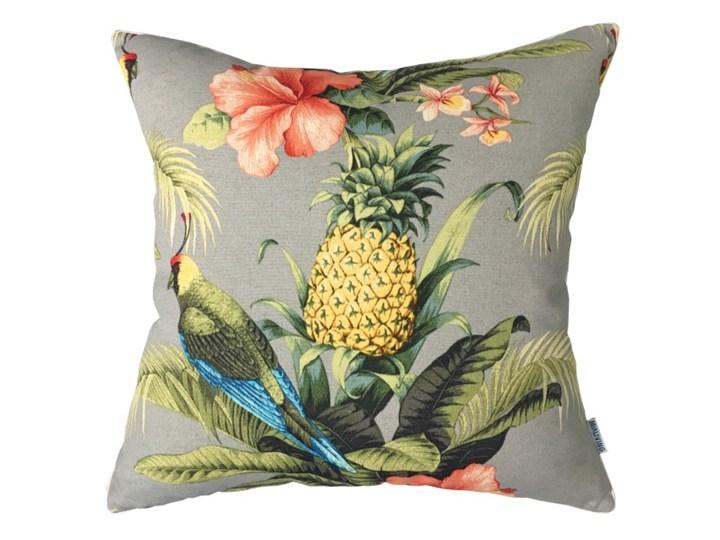 Poduszka dekoracyjna Bahamas Ananas z motywem tropikalnym 45 x 45 cm Poliester 45x45 cm