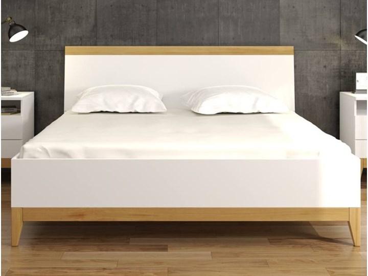 łóżko Drewniane Visby Livia Bc Ze Skrzynią Na Pościel