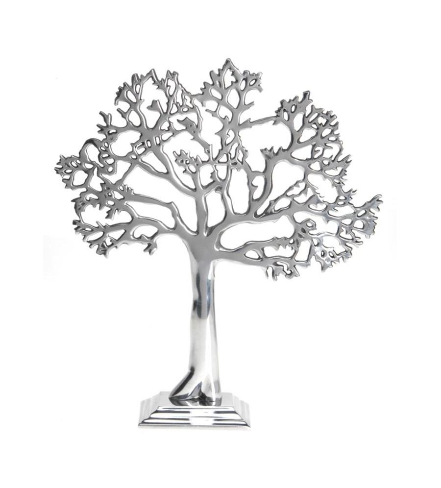 Drzewko Aluminium 43cm Srebrne