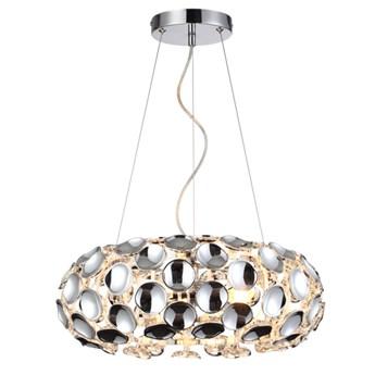 FERRARA   lampa wisząca 3 x 60W E14 nowoczesna design glamour Light Prestige LP-17060/3P
