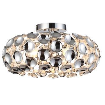 FERRARA L  lampa przysufitowa 3 x 60W E14 nowoczesna design glamour Light Prestige LP-17060/3C
