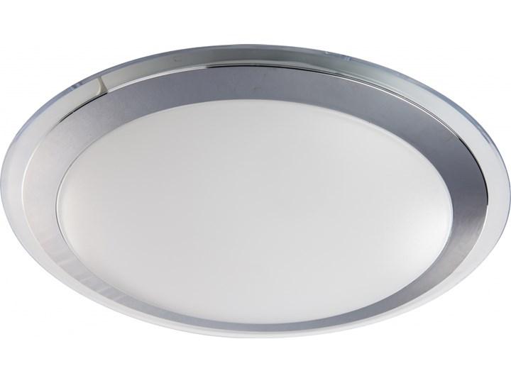 FLUO plafon 1 x 12W LED 4000K 1320LM nowoczesny płaski lampa sufitowa minimalistyczna PREZENT 71300