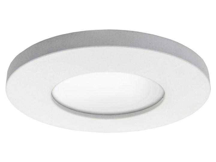 LAGOS 1 oprawa wpuszczana 1 x 50W GU10 biała oczko sufitowe minimalistyczne nowoczesne IP65 Light Prestige LP-440/1RS WH