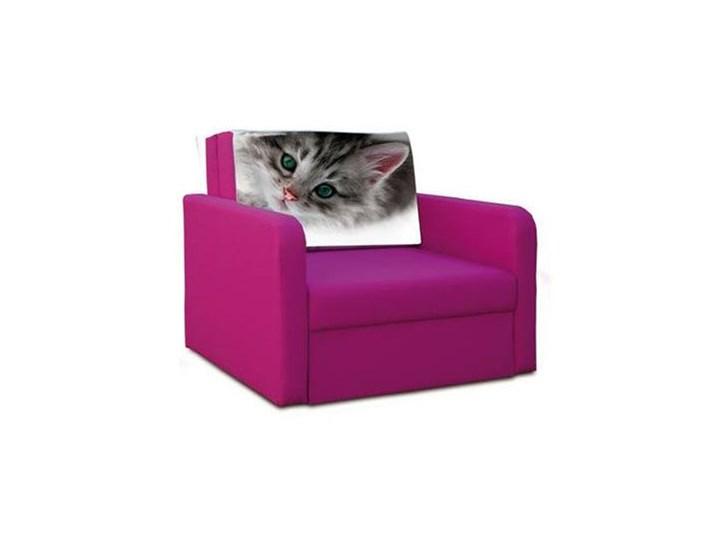 Sofa Fotel Jednoosobowy Rozkładany Magic Kotek