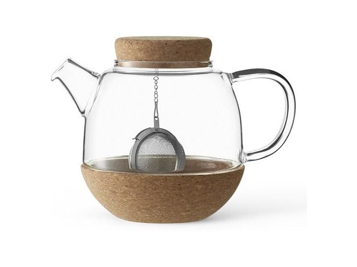 Dzbanek do zaparzania herbaty Cortica Stal Dzbanek do kawy i herbaty Dzbanek na zimne napoje Szkło Metal ceramika