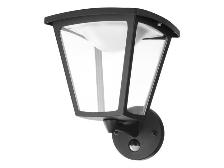 Lampa zewnętrzna ścienna LED Cottage Philips styl nowoczesny aluminium tworzywo sztuczne czarny 154883016