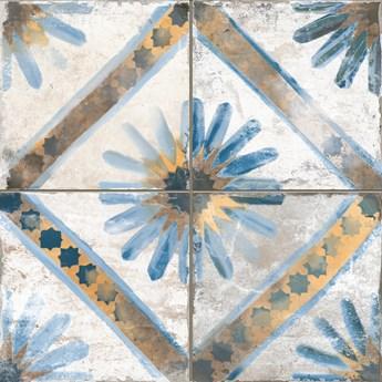 FS Marrakech Blue 45x45 płytka patchworkowa