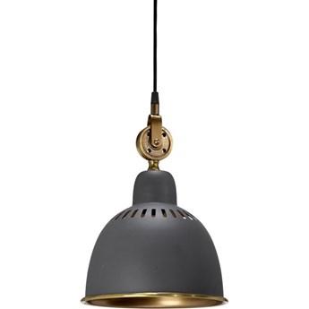 Industrialna lampa Cleveland grafitowa 23cm
