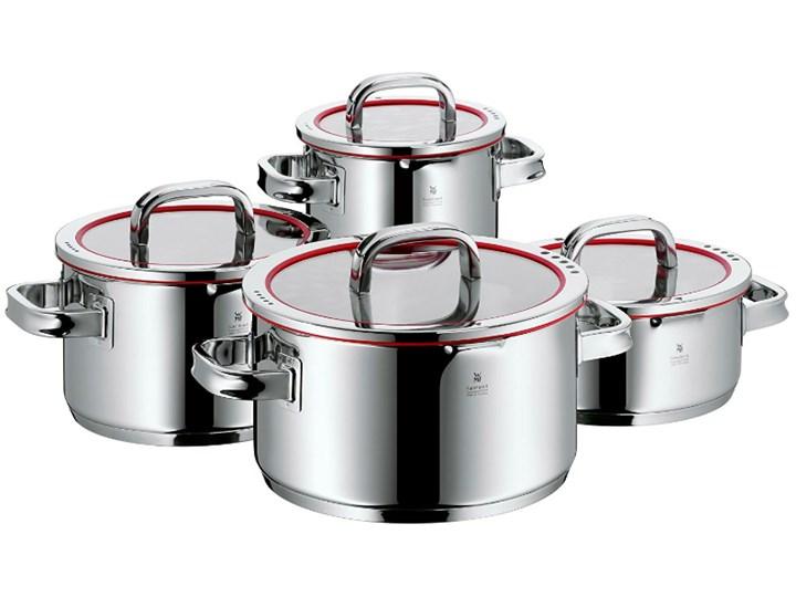 WMF Function 4 - komplet garnków 4 części, Indukcja HIT CENOWY Stal nierdzewna Aluminium