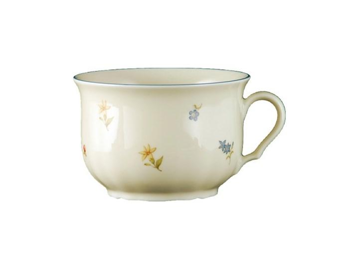 Filiżanka śniadaniowa ze spodkiem Marie Luise Seltmann Weiden Porcelana Filiżanka ze spodkiem Filiżanka do kawy Komplety filiżanek