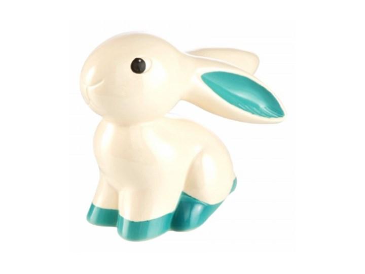 Figurka Bunny de luxe Turquoise Cute Bunny Goebel Ceramika Zwierzęta