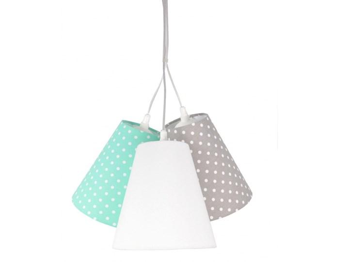 Lampa wisząca Dzwoneczki w Kropeczki Mint