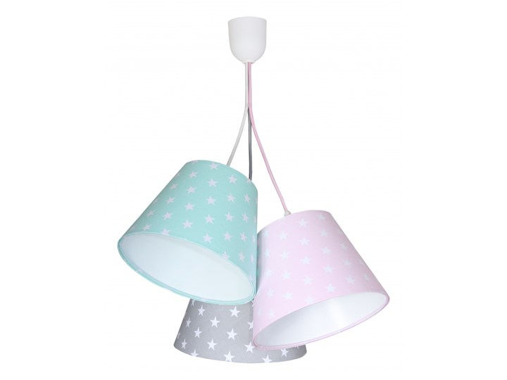 Lampa Wisząca Pink & Mint Stars