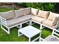 Komplet mebli ogrodowych ALLUMINIO Zawartość zestawu Stół Tworzywo sztuczne Aluminium Zawartość zestawu Fotele