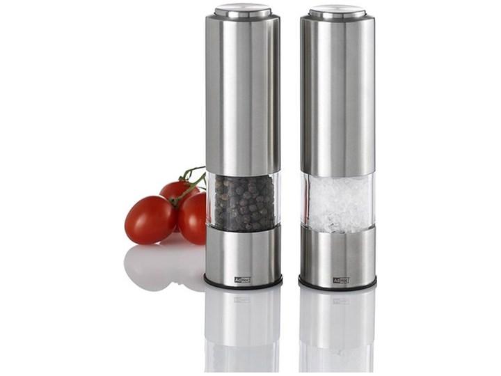 Młynek do pieprzu i soli elektryczny Profi 2 szt. Zestaw młynków Młynek do soli