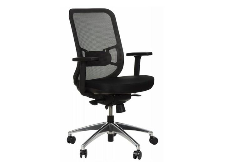 Krzesło Obrotowe Biurowe Z Podstawą Aluminiową I Wysuwem Siedziska