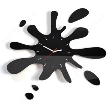Duży zegar na ścianę KLEKS