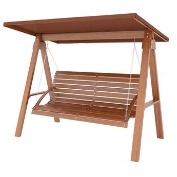 Huśtawka ogrodowa drewniana Magis 4X - 160cm