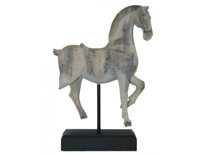 """FIGURKA KONIA ANTYCZNEGO PODSTAWA CZARNA  """" QIN SHI HUANG """" 48 x 32 x 12CM Zwierzęta Ceramika Kategoria Figury i rzeźby"""