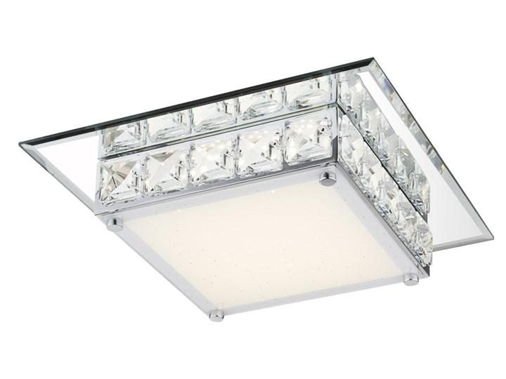 Lampa przysufitowa LED GLOBO MARGO styl glamour / kryształ chrom, kryształ k5 srebrny, przeźroczysty 49355