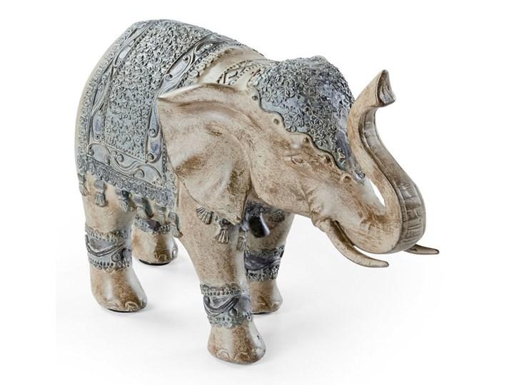 Figura dekoracyjna Słoń Tworzywo sztuczne Kamień Zwierzęta
