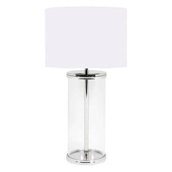 Lampa stołowa Kensington 63 cm srebrna