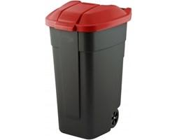Pojemnik na śmieci CZERWONY -- czerwony