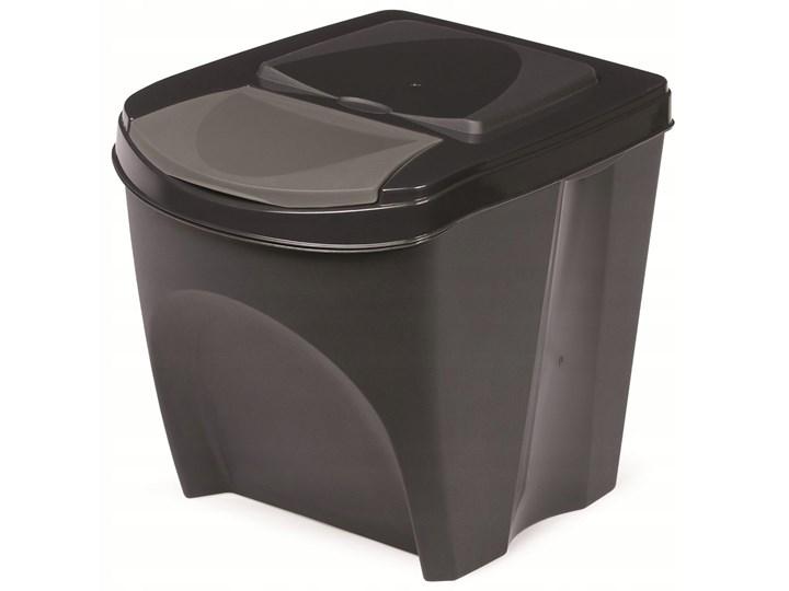 Kosz Na śmieci 20l Segregacja Antracytowy Kosze Na śmieci