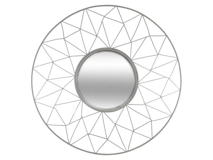 Okrągłe Lustro Ozdobne W Ramie Stylizowanej Na Kwiat Lustro Na