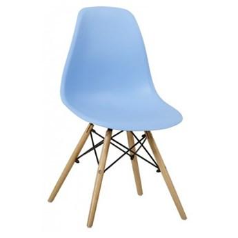 Krzesło Enzo Dsw Paris bukowe nogi niebieskie