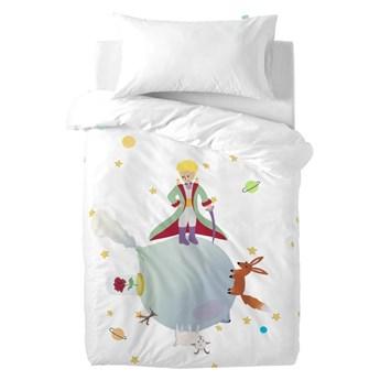 Bawełniana pościel dziecięca z poszewką na poduszkę Mr. Fox Little Prince, 100x120 cm
