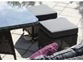 Zestaw mebli ogrodowych SIENA royal szary Tworzywo sztuczne Zawartość zestawu Narożnik Zestawy wypoczynkowe Aluminium Technorattan Zawartość zestawu Krzesła