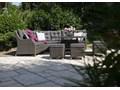 Zestaw mebli ogrodowych SIENA royal szary Aluminium Zestawy wypoczynkowe Technorattan Tworzywo sztuczne Zawartość zestawu Krzesła