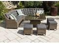 Zestaw mebli ogrodowych SIENA royal piaskowy Tworzywo sztuczne Technorattan Kategoria Zestawy mebli ogrodowych Aluminium Zestawy wypoczynkowe Zawartość zestawu Krzesła