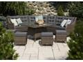 Zestaw mebli ogrodowych SIENA royal piaskowy Aluminium Zestawy wypoczynkowe Technorattan Tworzywo sztuczne Zawartość zestawu Krzesła