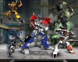 Fototapeta dla dzieci Walltastic FDW006 - Transformers ...
