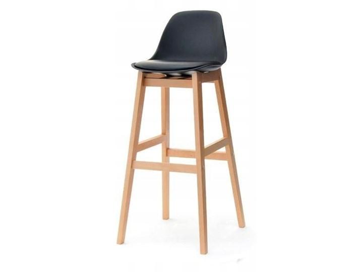 Krzeslo Barowe Funkcjonalne Nowoczesne Buk Czarny Hokery Zdjecia