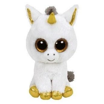 Maskotka TY INC Beanie Boos Pegasus - Biały jednorożec 24cm 36825