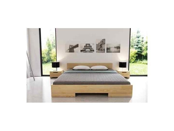 łóżko Drewniane Sosnowe Spectrum Niskie 90 200x200