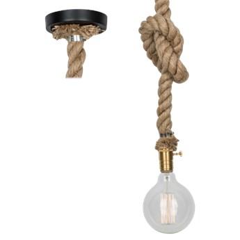 Lampa Simply light – lina konopna