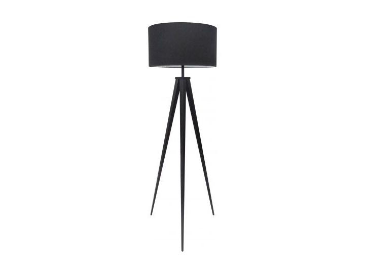 Lampa podłogowa Tripod 142 cm czarna