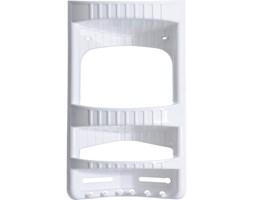 Narożna półka łazienkowa CADDY, półka pod prysznic - 3 poziomy