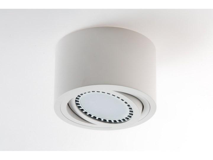 PP Design P 220 WH PLAFON NOWOCZESNA LAMPA SUFITOWA OPRAWA NATYNKOWA 16 CM ALUMINIUM BIAŁY ES111 LED