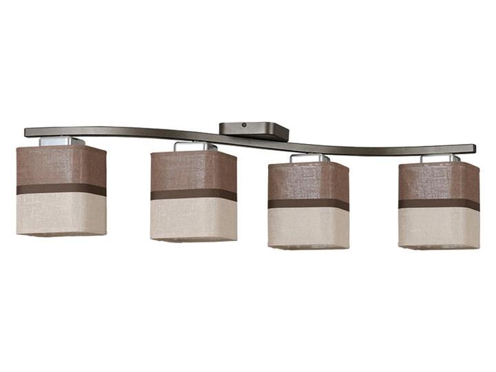BELLA 4 676/4 nowoczesna lampa sufitowa dwukolorowy abażur