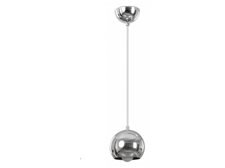 BALL 1 CHROME 404/1 chromowana kula wisząca super efekt Lampa kula Lampa z kloszem Metal Kolor Srebrny